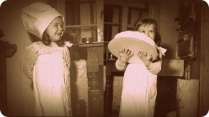 Hier seht ihr mich 1966 in der Backstube in Mettlach..
