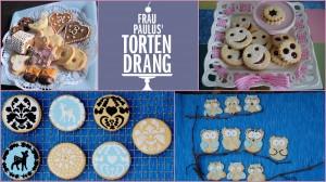 Plätzchen Cookies Kekse Weihnachten backen dekorieren Frau Paulus Tortendrang HP