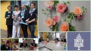 Tortendeko Kurse Cakeart Workshop Kaiserslautern Landstuhl Pirmasens Tortendekorationskurs Tortendekokurs Tortendekorationskurs Blüten Rosen HP
