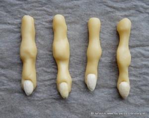 Finger Kekse Halloween