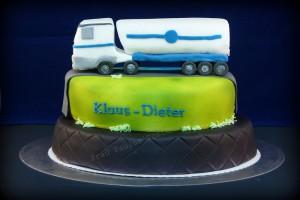 LKW-Torte - Torte mit Lastwagen