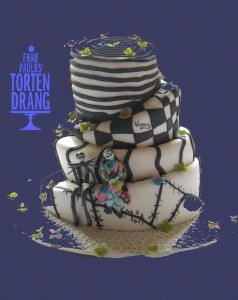 Cake The nightmare before christmas