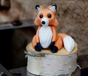 Fuchs aus Modellierfondant