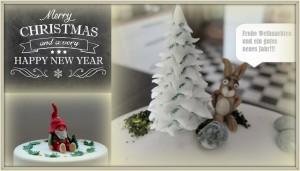 Frohes neues Jahr Weihnachten HP