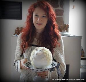 Torte Igel Tortendekorationskurse Motivtorte Fondant Ramstein Saarbücken Kaiserslautern Landstuhl Pirmasens Zweibrücken Homburg