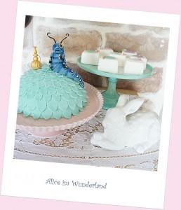Torte Alice im Wunderland Sweet Candy Table Tortendekokurse Kaiserslautern Landstuhl Pirmasens