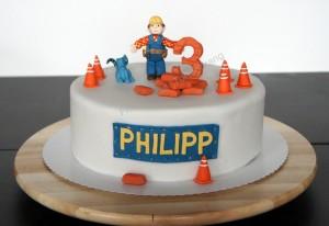 Torte Bob der Baumeister Bob the builder cake