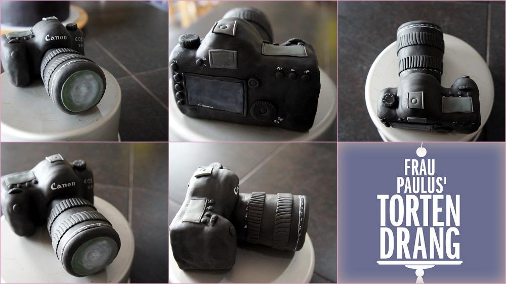 Fondant kuchen kamera