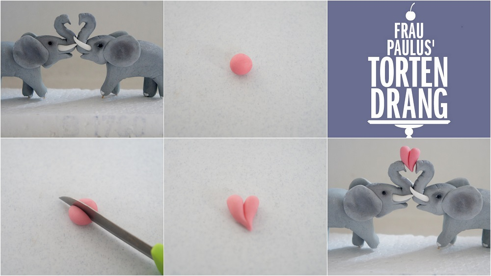 elefant aus modellierfondant anleitung tutorial elephant. Black Bedroom Furniture Sets. Home Design Ideas