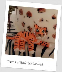 Tiger Tortendekoration Dschungel Tortendekorationskurse kaiserslautern Landstuhl Pirmasens