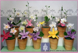 1-Tortendekorationskurs Orchideen Fondant Kaiserslautern Landstuhl Pirmasens Zweibrücken Homburg Kusel