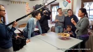 Plätzchen backen fürs Fernsehen - Film bei Frau Paulus´ Tortendrang