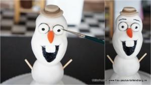 Torte Olaf Frozen Anleitung Tortendekorationskurse Kaiserslautern Landstuhl Saarbrücken