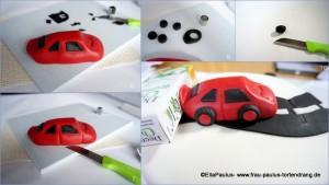 Cars Torte Anleitung