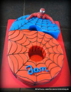 Torte Spiderman Tortendekorationskurse Fondant Motivtorte Saarbrücken Kaiserslautern Landstuhl