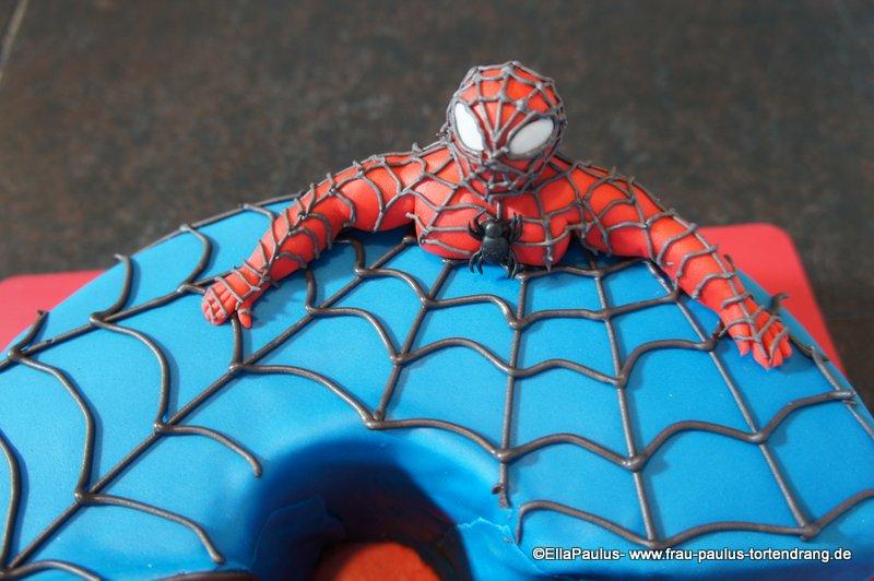 Spiderman Torte Oder Wie Backe Ich Eine 6 Produkt Test Massa