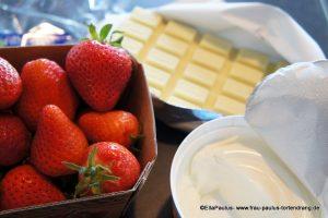 Anleitung Rezept Erdberrkuchen Backen