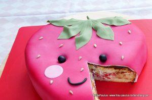 Torte Erdbeere Tortenkurse Fondant Motivtorte Saarbrücken Kaiserslautern