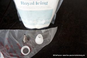 Anleitung Royal Icing spritzen