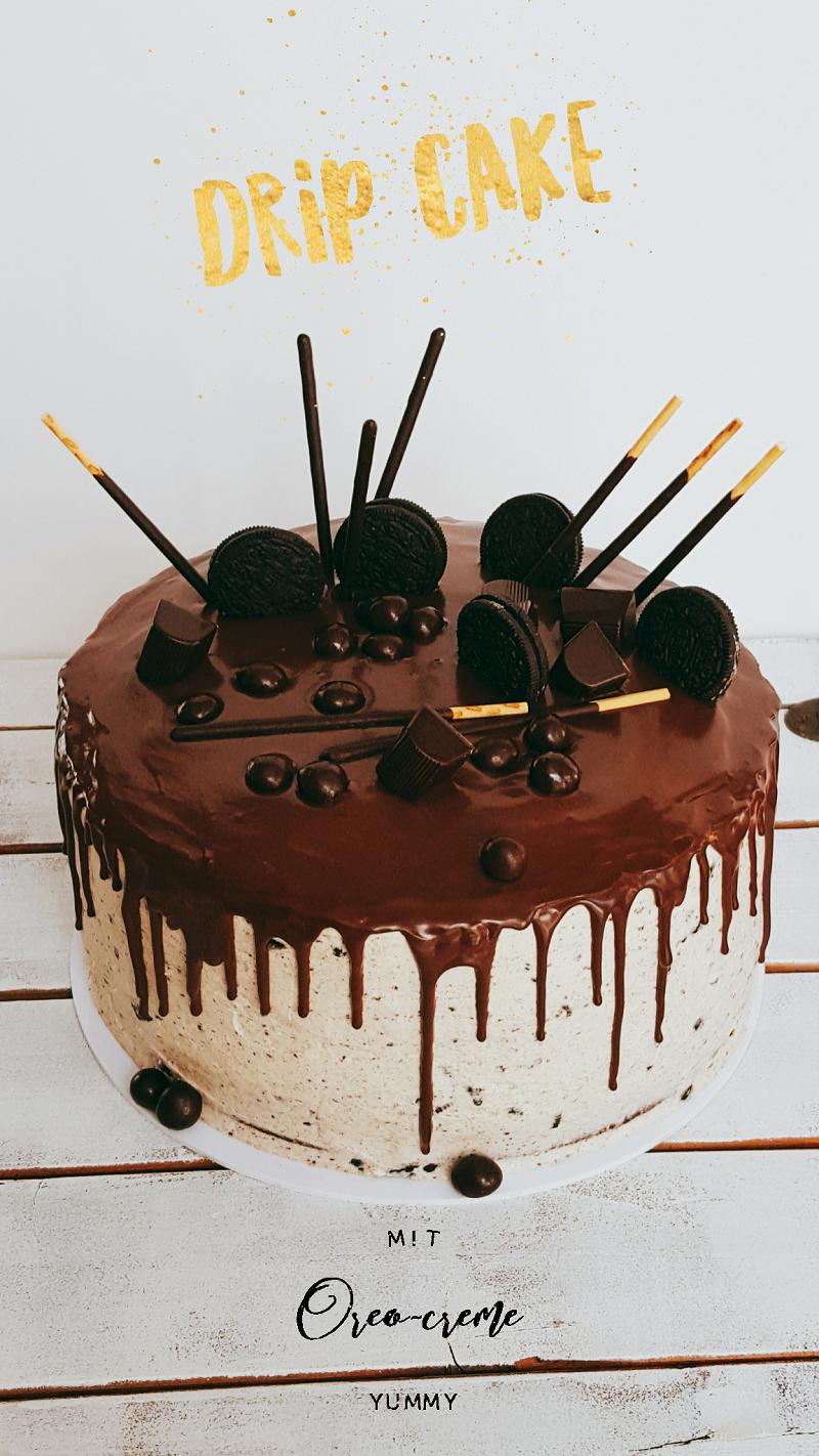 Drip Cake Mit Oreo Creme Rezept Und Anleitung Frau Paulus