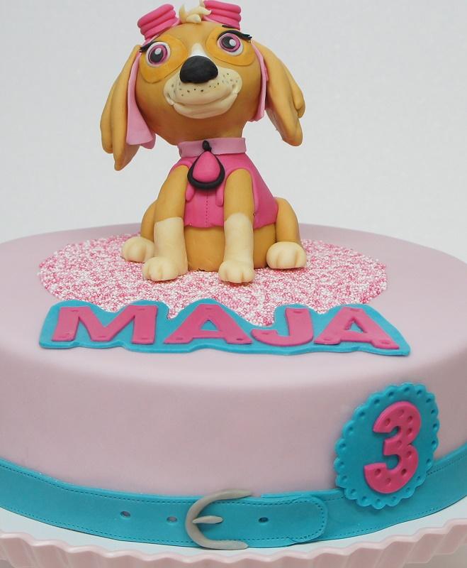 Torte Mit Hund Skye Von Paw Patrol Oder Wie Mache Ich Einen