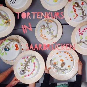 Tortenkurs in Saarbrücken und Kaiserslautern / Landstuhl