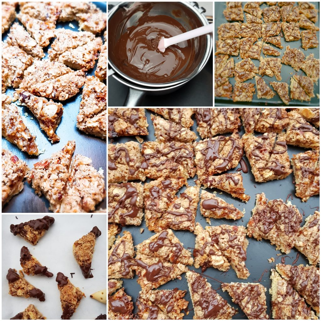 Nussecken oder Nusseckenkekse Rezept vegan oder konventionell
