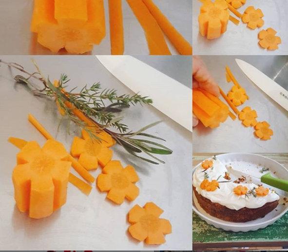 Karottentorte Rezept