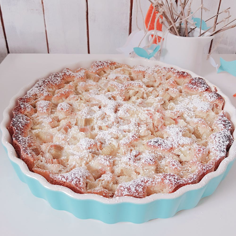 Rezept für köstlichen Rhabarberkuchen