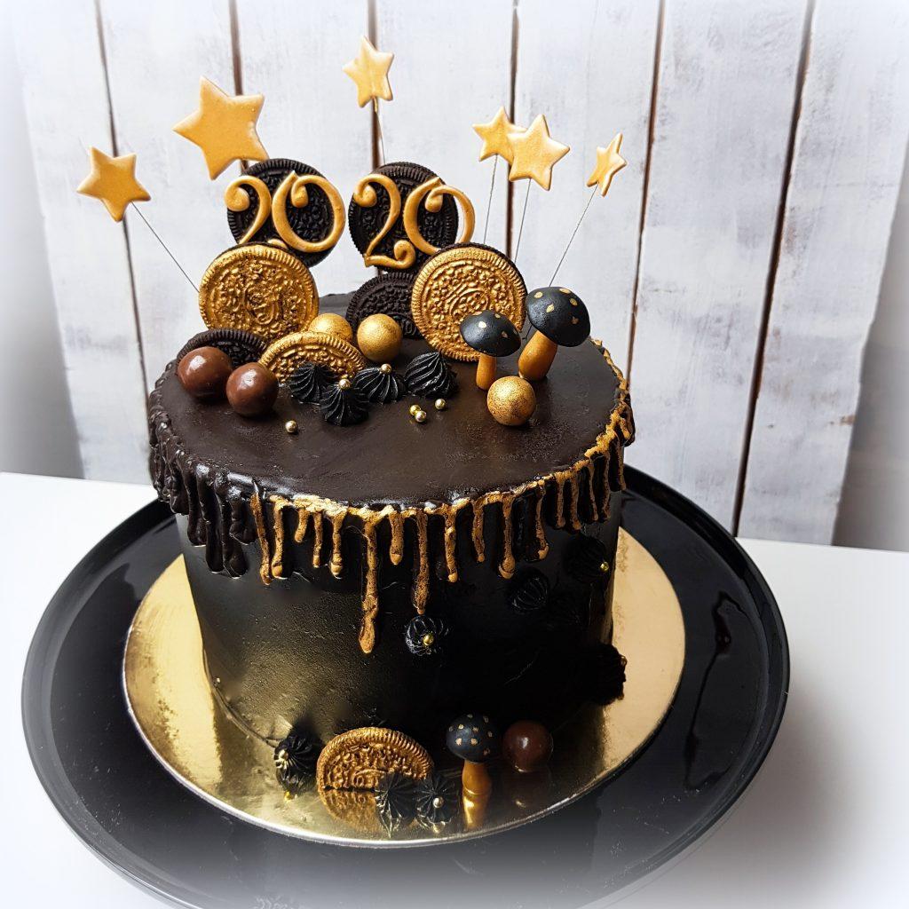 Silvester Torte Neujahr