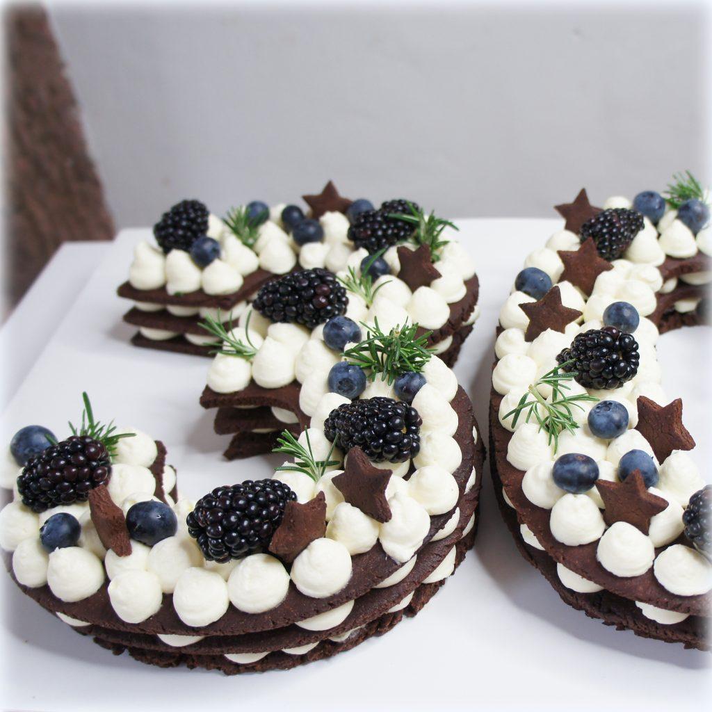 Rezept für Zahlentort Numbercake Lettercake