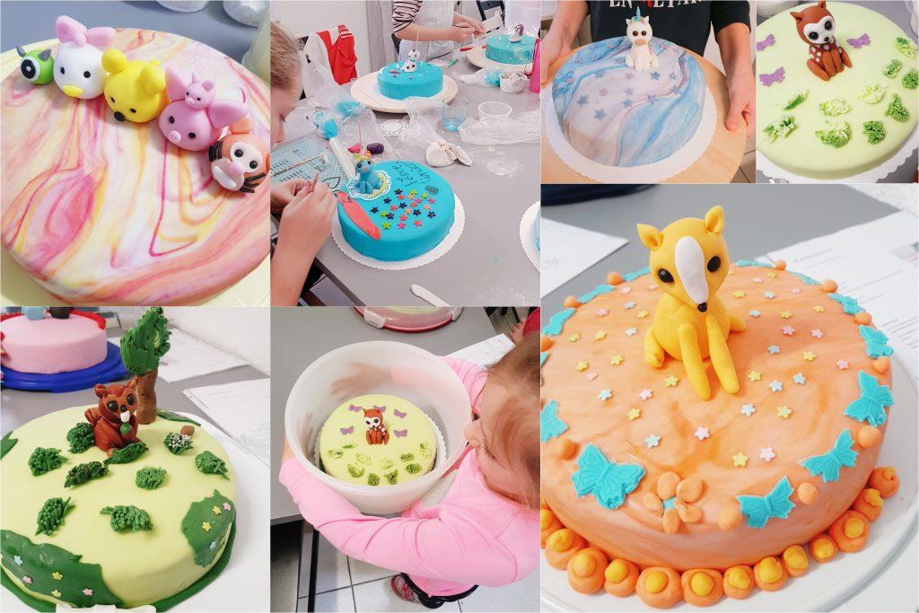Tortenkurs für Kinder in der Südwest-Pfalz
